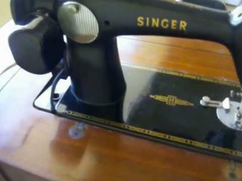 Singer Model 40 40 Sewing Machine Table FOR SALE YouTube Amazing Singer Sewing Machine Model 201 Value
