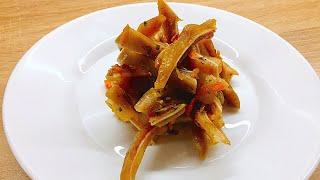 Салат со свиными ушками. Легкие рецепты. #супербатя на кухне