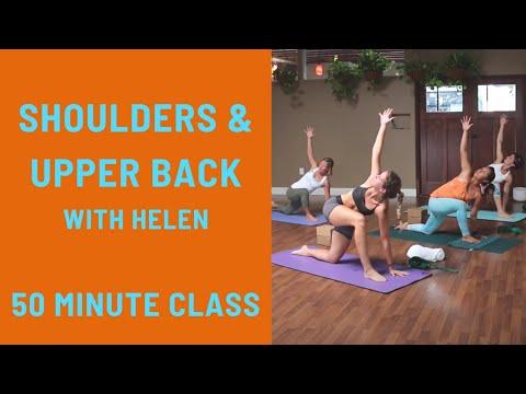 50 Minte Yoga Class - Shoulders & Upper Back