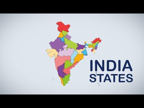 INDIAN MAP ANIMATION