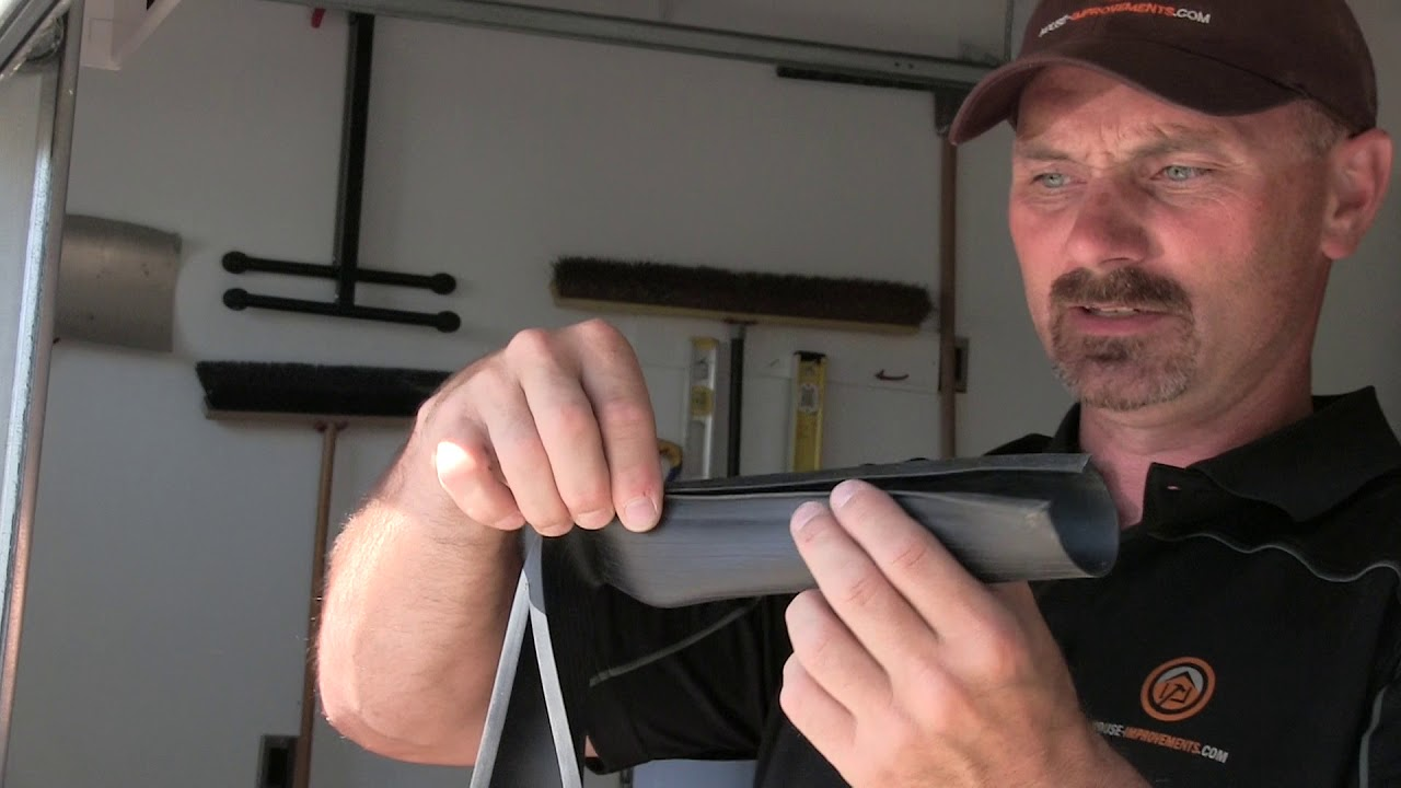 How To Replace A Garage Door Seal You