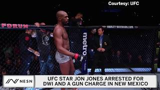 Jon Jones Arrested For DWI And A Gun Charge