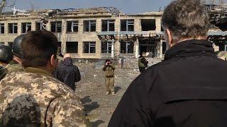 Глава МЗС Люксембургу відвідав зруйноване Широкине