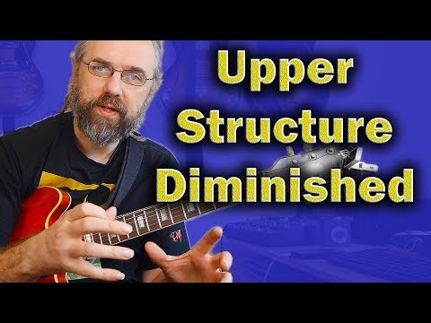 Upper-structure Triads from the Diminished scale - Great Dom7th material