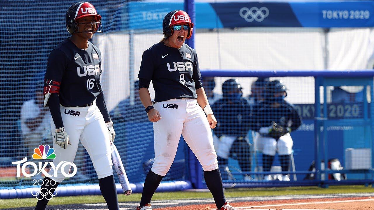 Olympics 2021 updates - USA softball falls to Japan, USWNT ...