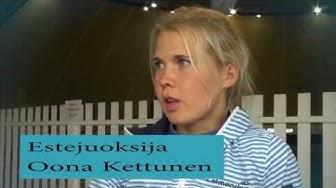 Oona Kettunen ja Jukka Keskisalo yhteistyöhön