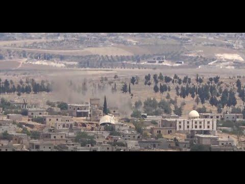 حرائق تلتهم الأراضي الزراعية بريف إدلب جراء قصف قوات النظام السوري  - نشر قبل 2 ساعة