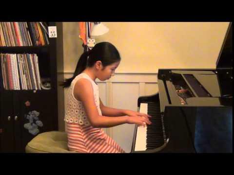 Mozart piano sonata in B flat Major, K 333, 1st movement.