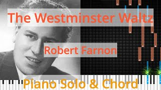 🎹Solo & Chord, The Westminster Waltz, Robert Farnon, Synthesia Piano