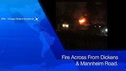 Breaking News: Huge Fire At Jacobsen Tires On Mannheim Road!