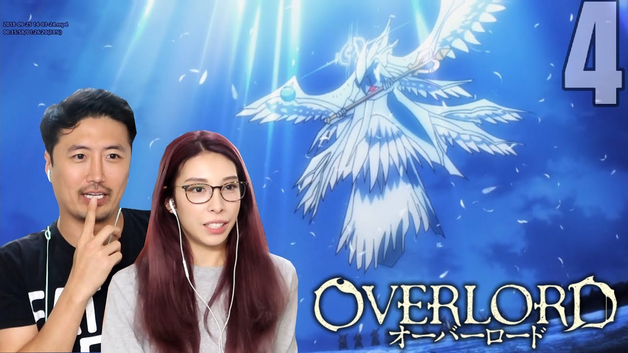 SUNLIGHT SCRIPTURE! OVERLORD EPISODE 4 REACTION!