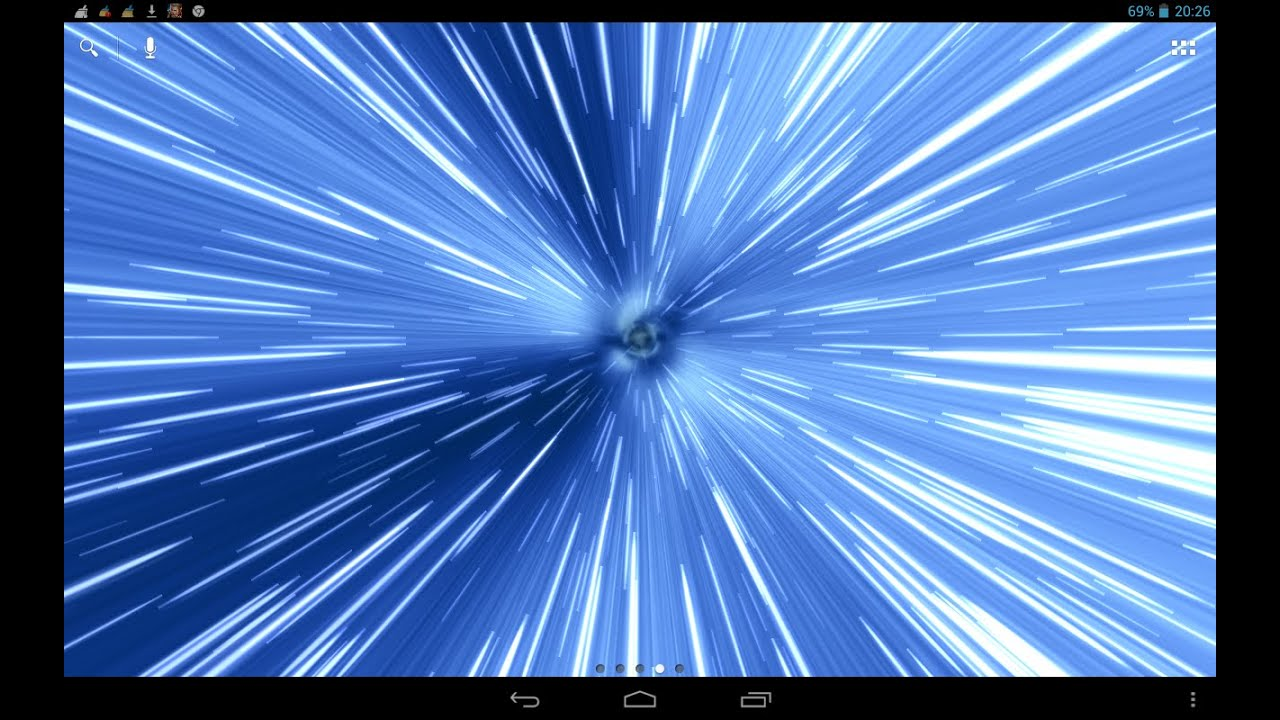 Hyperspace Live Wallpaper Youtube