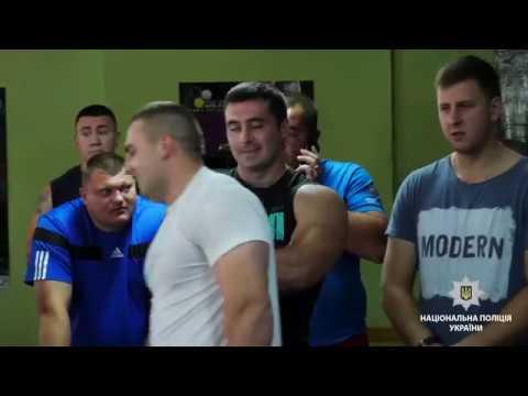 ГУ НП в Хмельницькій області: У Хмельницькому відбувся чемпіонат з гирьового спорту серед поліцейських