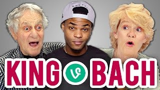 Repeat youtube video ELDERS REACT TO KING BACH VINES