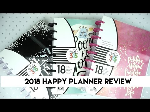 2018 Happy Planner Review