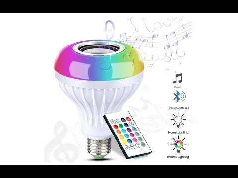 LUXON LED Bluetooth smart Music Light Bulb