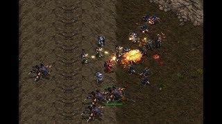 EPIC - Effort (Z) v Last (T) on Sniper Ridge - StarCraft  - Brood War REMASTERED