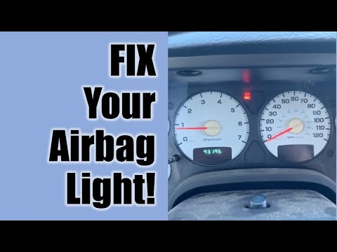 How to Fix the Airbag Light in a Dodge Ram Pickup Truck (or Just About ANY Vehicle!)