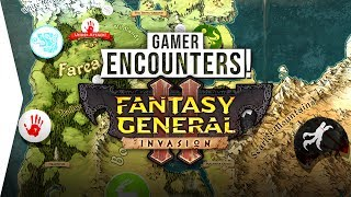 RPG Tactics ► Fantasy General II: Invasion - New Strategy Role-playing Gameplay - [Gamer Encounters]