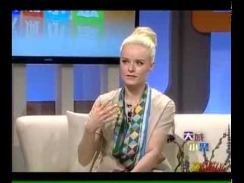 Corinna 陳明恩 TV Interview @ 大城小聚 Leisure Talk(Part 1)