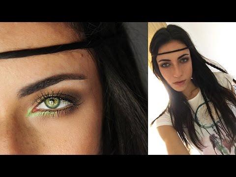 Boho Makeup Tutorial Makeupandartfreak Youtube