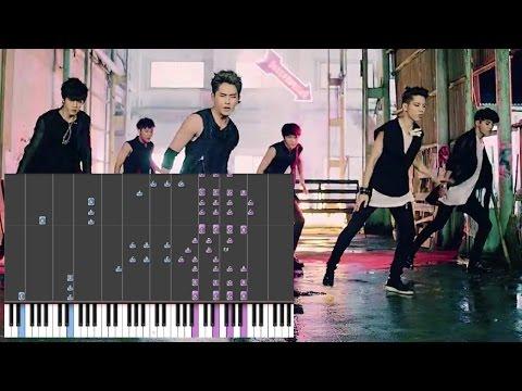 INFINITE - Back (Piano)
