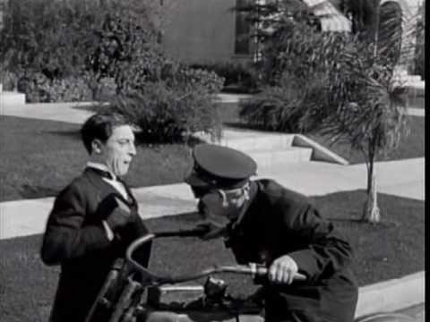 Buster Keaton - Sherlock Jr. (1924) motorcycle scene