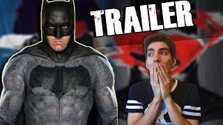 Vídeo Reacción: Trailer de Batman v Superman: Dawn of Justice (Comic-Con)