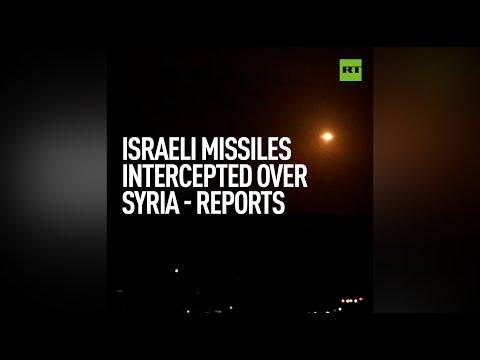 Syrian Air Defenses Intercept Israeli Missiles Over Damascus – State Media