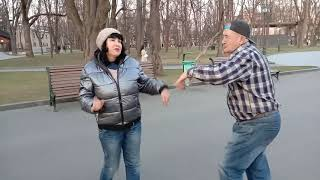 Мадам Брошкина!!!Танцы,сад Шевченко,апрель 2021.