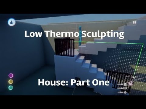 Dreams PS4 Tutorial: Low Thermo Sculpting [House: Part One]