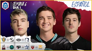 Clash Royale League: CRL West Fall 2019 | ¡Semana 6 Día 1! (Español)