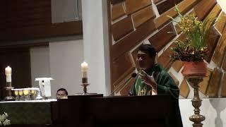 11 17 2018 Sunday Mass English Versions for YOUTH   Saint Cecilia Catholic Tustin California 2018