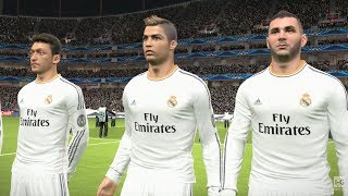 Pro Evolution Soccer 2014 - FC Barcelona vs Real Madrid Gameplay (1080p60fps)