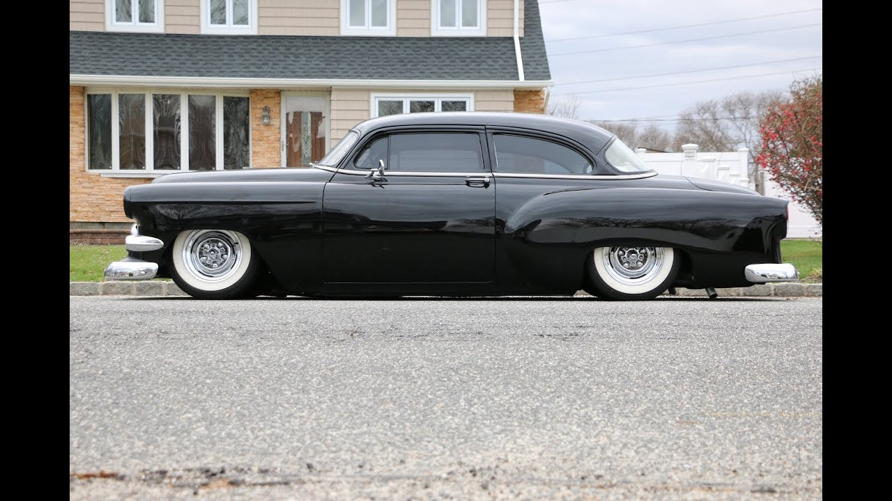 Killer 1954 Chevy 210 Lowrider For Salechoppedbaggedair Bel Air Conditioning