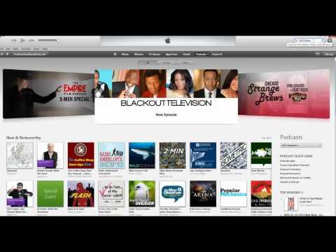 How to Subscribe to FREDTalks Podcast on iTunes