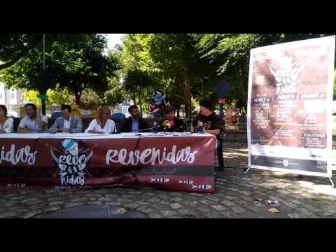 VÍDEO - Xurxo Souto animou a achegarse a Vilaxoán na presentación do Festival de Revenidas