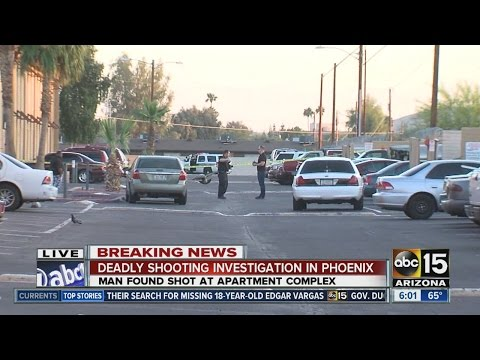 Deadly shooting at Phoenix apartment complex