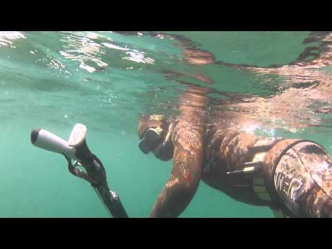 Подводная охота в Каспийском море, Май 2014 г.