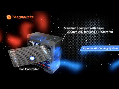 Thermaltake - Core V71 Full-Tower Chassis