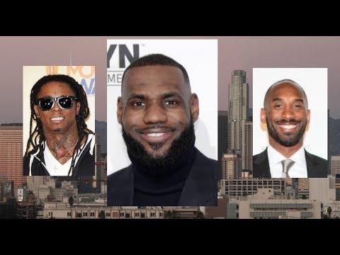 0e9371abd7f Lil Wayne and Kobe Bryant WELCOME LEBRON JAMES TO LA, Celebrities REACT