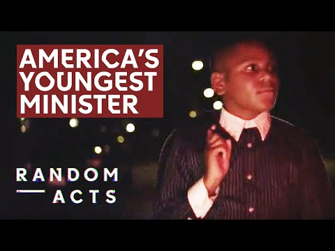 Ezekiel: The USA's Youngest Ordained Minister