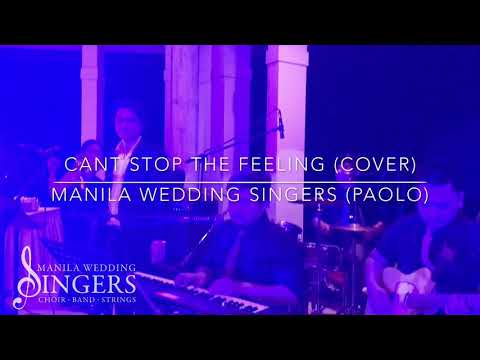 CANT STOP THE FEELING (cover) - Manila Wedding Singers