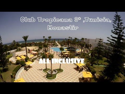 Обзор отеля Club Tropicana 3*, Tunisia, Monastir. Обзоры Vconstante. (Выпуск 54)