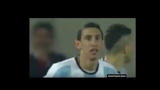 اهداف مباراة تشيلي و الأرجنتين 1 2 حفيظ دراجي