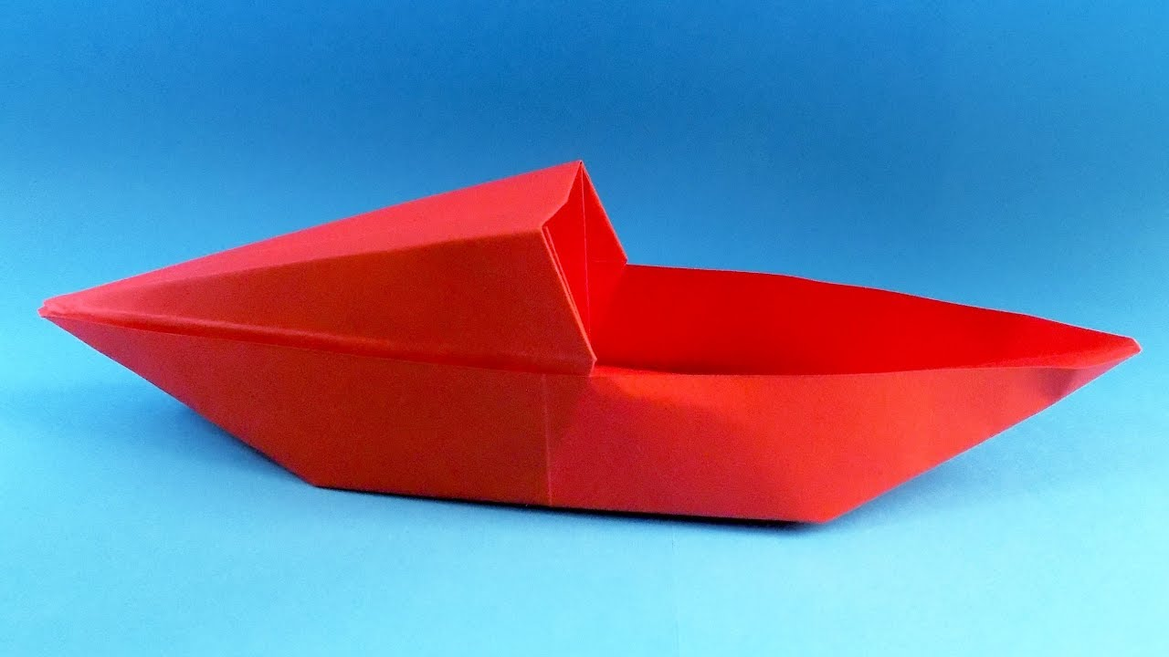 how to make a paper boat origami boat youtube