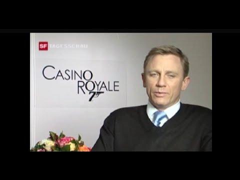 Casino Royale - Premiere in Zürich (SF Tagesschau 16.11.2006)