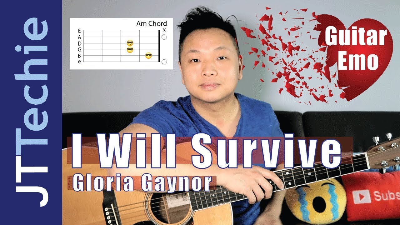 I Will Survive Gloria Gaynor Guitar Chords Youtube