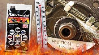 Nano Energizer Dodatki do olejów Analiza Test Tarcia 100°C