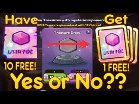 Cookie Run: Oven Break - Have 10 Treasure Ticket Get 1 10+1 Treasure Ticket and Treasure Hunt Event